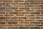 Wall made of laterite stone, laterite stone texture background — Stock Photo