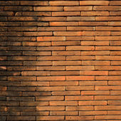 Background of brick wall texture use for design — Stock Photo