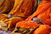 Monks of the religious rituals, Buddhist ceremony — ストック写真