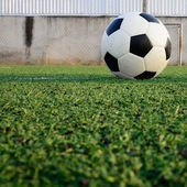 Soccer ball sport game — Stock Photo
