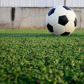 Soccer ball sport game — Stock Photo