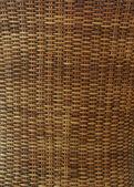 Wicker texture background, traditional handicraft weave — Stockfoto