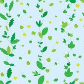 Tekstura z zielonych liści — Wektor stockowy