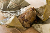 Zongzi , Chinese food — Stockfoto