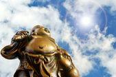 Big Buddah Statuet — Stock Photo