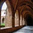 Cistercian cloister — Stock Photo #49450943
