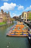 Cambridge Boats — Stock Photo