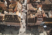 Strasbourg houses. France. — Foto Stock