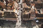 Strasbourg houses. France. — Stock Photo