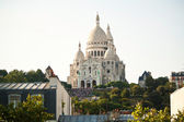 Basilica Sacre Couer at Montmartre in Paris, France — Stock Photo