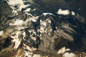 Alps mountains view from the sky — Stock Photo