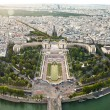 Aerial view of Paris from the Eiffel Tower. France. — Stock Photo #49870093