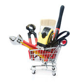 Hand tools Shopping — Stock Photo