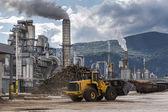 Industrial scene — Stock Photo