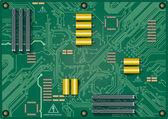 电路板 — 图库矢量图片