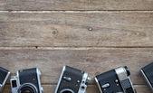 Fundo de câmera vintage — Fotografia Stock