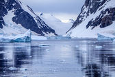 Antarctic Ice Landscape — Stock Photo