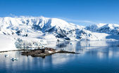 Antarctica research Chileen base station-2 — Stockfoto
