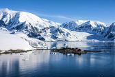 Antarctica research Chileen base station-3 — Stock Photo