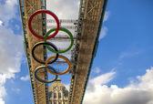 London Olympic 2012 Tower Bridge — Stock Photo
