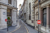 Clements Lane London Street — Stock Photo