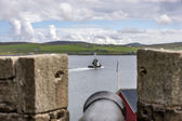 Bressay viewed form Lerwick — Stock Photo