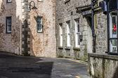Lerwick City, Street view, Scotland — Stock Photo