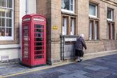 Lerwick downtown,Scotland — Stok fotoğraf