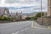 Lerwick shetland, skotsko — Stock fotografie