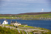 Shetland Landscape — Stock Photo