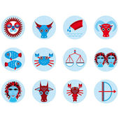 Astrological signs — Stock Vector