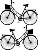 Bicycles sketch — Stockvector