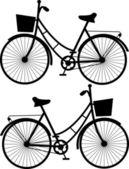 Bicycles sketch — Stockvektor