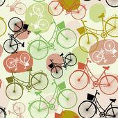 Fondo de bicicletas — Vector de stock