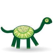 Funny dinosaur — Stock Vector