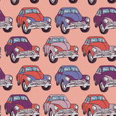 Seamless cars pattern. — Stock Vector