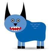Cute cartoon monster — Stockvector