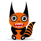 Cute cartoon Monster — Stock Vector