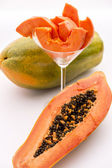 Papaya - a popular breakfast fruit — Stock Photo