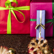 Bowknots, presents, stars and twinkles — Stock Photo #50151433