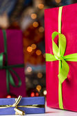 Presents and twinkles — Stock Photo