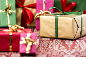 Single-Colored Presents for Many Occasions — Stock Photo