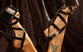 Sexy shoes with high hills — ストック写真