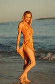 Professional Model Holly Kisere - American Dream Team Winner — Foto de Stock