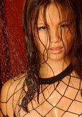Beautiful Asian Brunette - Studio Shoot — Stock Photo