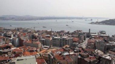 Istanbul-draufsicht — Stockvideo