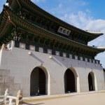 Gwanghwamun Gate — Stock Photo