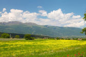 Landscape of nature near Kalofer city, Stara Planina, Bulgaria — Stock Photo