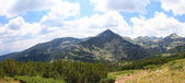 Panorama of mountain hill in National Park Pirin, Bulgaria — Stock Photo