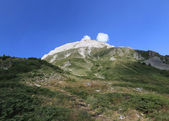 Peak Vihren, Pirin mountain, Bansko, Bulgaria, Eastern Europe — Stock Photo